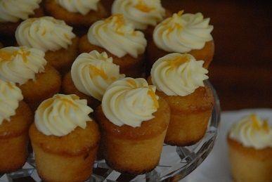 Miniature orange & almond fairy cakes - gluten free, not taste free!!