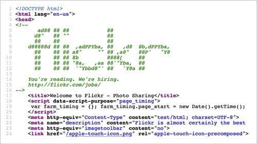 flickr-source-code-recruitment-marketing