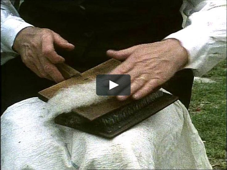 This is a clip from one of the DVDs in the Hands Series originally seen on RTE. To learn more or to buy the complete film, visit our Etsy shop at http://www.etsy.com/listing/62802432/wool-spinning-dvd
