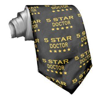Funny Cool Doctors : Five Star Doctor Neck Ties