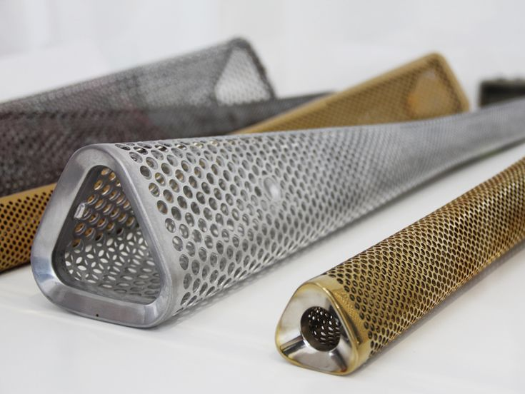 Details we like / Torch / Mesh / Pattern / Triangle / 2012 Olympic Torch Prototypes - Barber Oscerby
