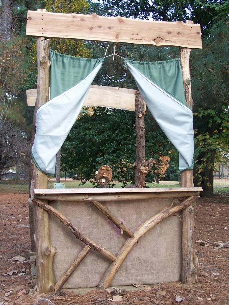 Outdoor Puppet Stage
