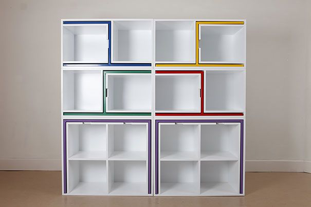 Chairs And Tables That Fit Into A Shelf