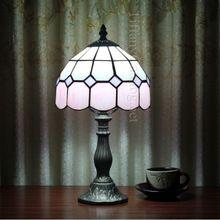 Тиффани настольная лампа дети чтение настольная лампа мода как искусство исследование спальня лампа изысканный и элегантный лампы
