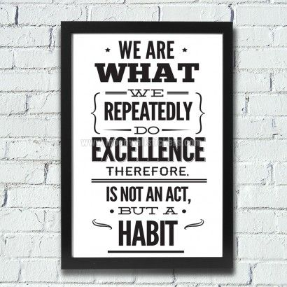 Excellence Office Decor Poster - Moon Wall Stickers