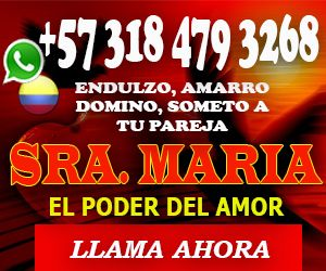 EXPERTA EN TRABAJOS DE MAGIA ROJA. FUERTES AMARRES. COMUNICATE YA CON LA SR MARIA +573184793268 Bogotá - Clasiesotericos Colombia