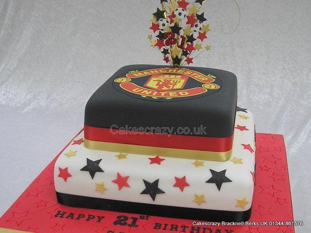 Manchester United Logo Cake  http://www.cakescrazy.co.uk/details/mufc-logo-cake-7247.html