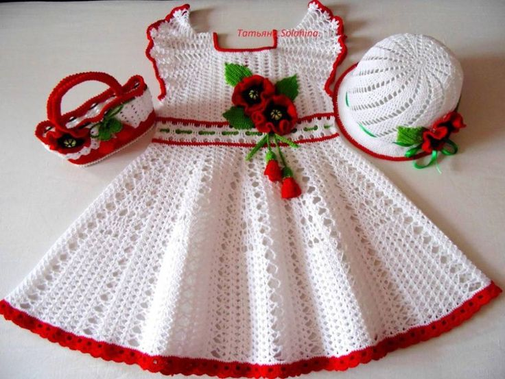 Hat Crochet Baby Girl
