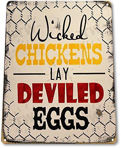"TIN SIGN ""Chicken Eggs"" Pen Coop Eggs Decor Kitchen Cotta... https://smile.amazon.com/dp/B01BIF0K4G/ref=cm_sw_r_pi_dp_DbOFxbFP0D6SE"