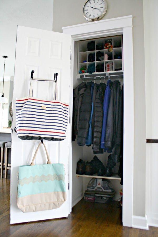 My Tricks For An Organized Coat Closet
