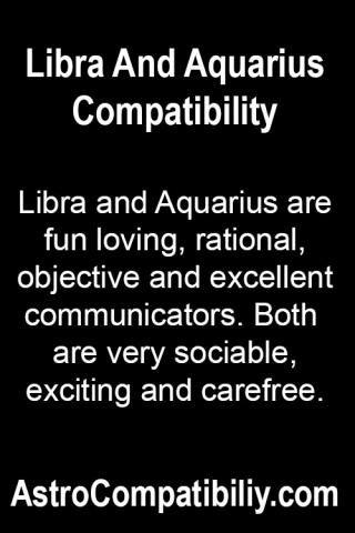libra and aquarius relationship problems