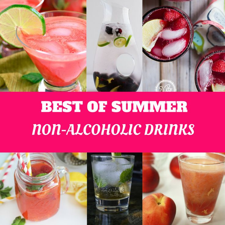 Best of the BEST summer drinks! non-alcoholic, paleo-friendly, fresh, fruity drinks.  SparkleKitchen.com
