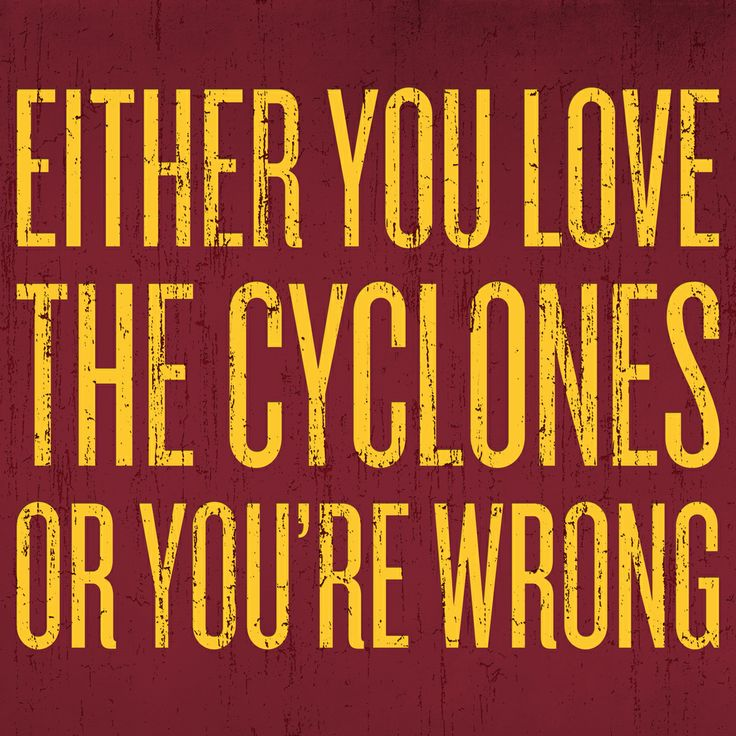 Do you love the Cyclones this much? #cyclONEnation