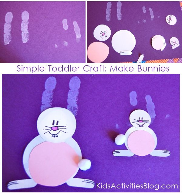 Bunny Ears- Easter Bunny Crafts for Kids!