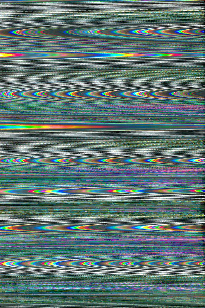 Holographic Trippy Wallpaper Glitch Art Glitch