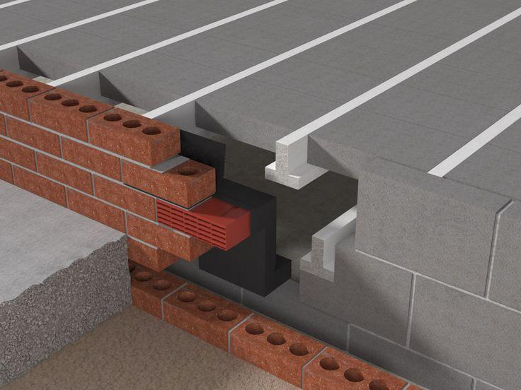 Air Brick Radon In The Case Of Suspended Concrete Or Beam