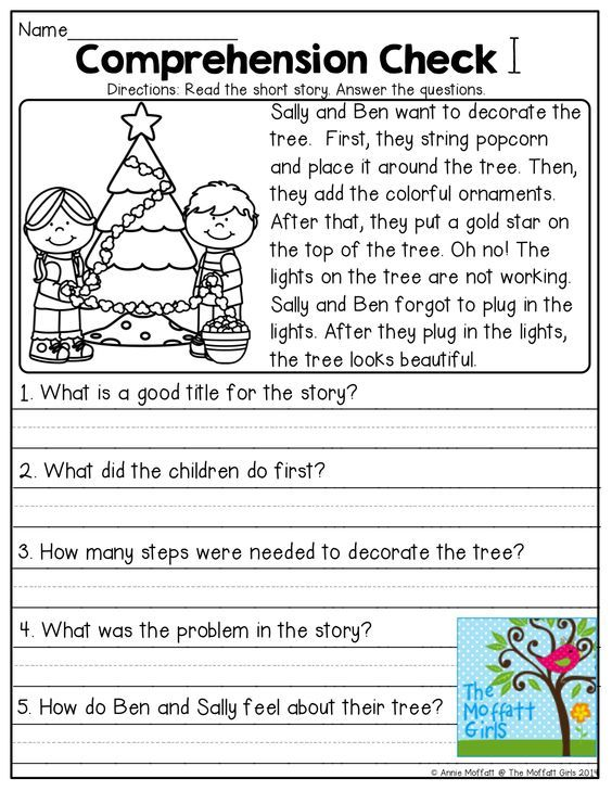 Comprehension Check and TONS of other great resources!