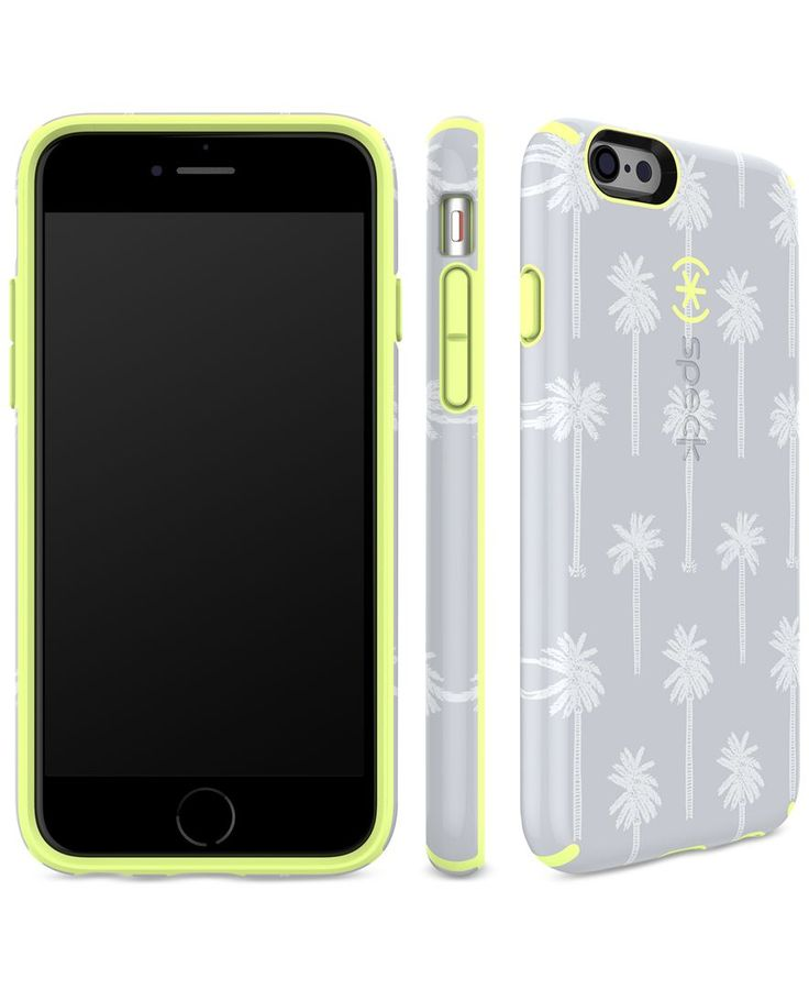 Encompass your iPhone 6 in the beautiful shapes and colors of nature with this protective case from Speck. | Polyvinyl chloride/polypropylene/thermoplastic elastomer | Clean with cleaning cloth | Impo