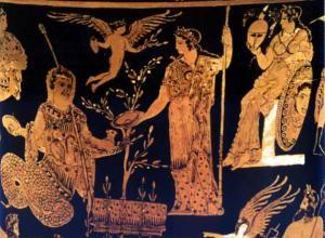 Olive oil and Greek mythology