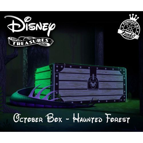 Funko Disney Treasures Subscription Box - October 2017 Haunted Forest - New And Complete. #Funko #Disney