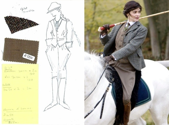 Catherine Leterrier designs nominated for the film Coco Before Chanel.