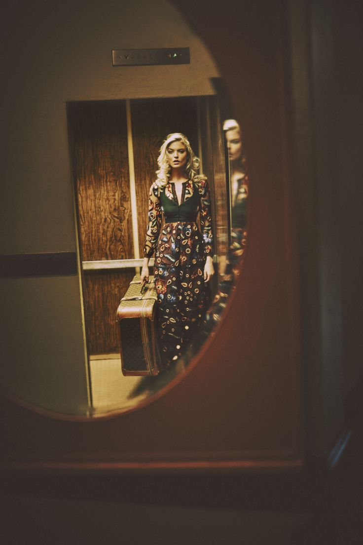 a rolling stone (Martha Hunt by Guy Aroch for So It Goes Magazine...)