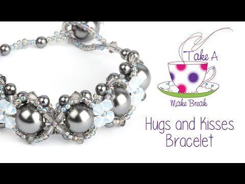 Hugs and Kisses Bracelet | Take a Make Break with Sarah Millsop - YouTube
