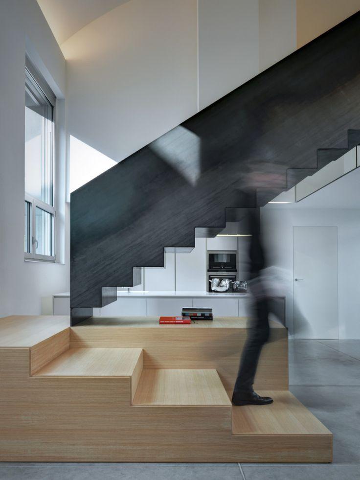 Inspiring loft apartment designed by Buratti Architetti