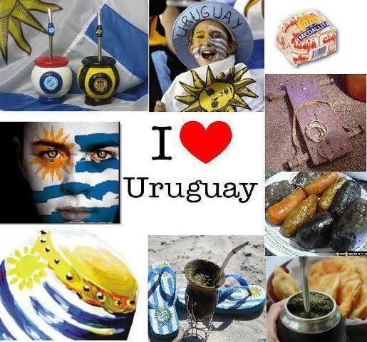Uruguay... Mouth is watering at that chorizo, huh mom? :)