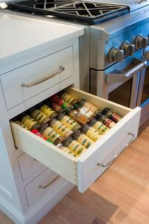 Bensen St. - transitional - cabinet and drawer organizers - portland - by Rockwood Cabinetry