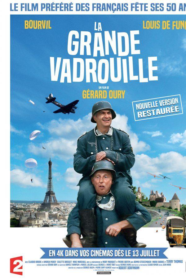 La Grande Vadrouille - film 2016 : les séances, le synopsis, les photos et les bandes-annonces du film, le casting… - Orange Cinéma