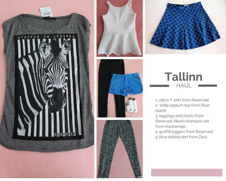Tallinn Haul - theliterarychic.com