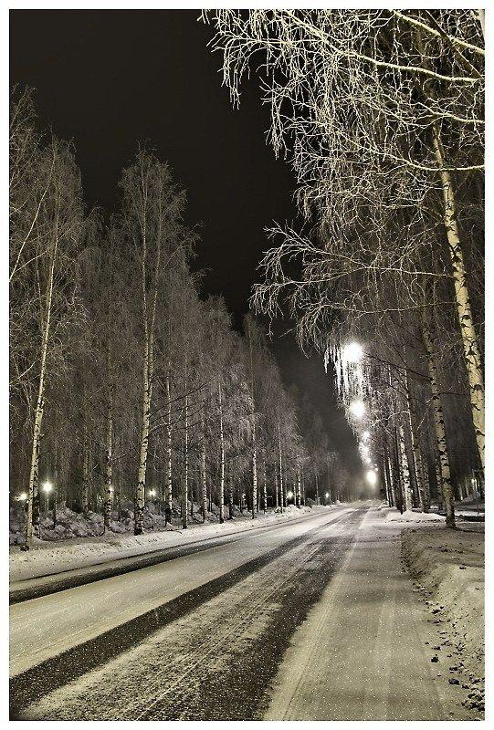 Main street, University of Oulu, Oulu, Finland