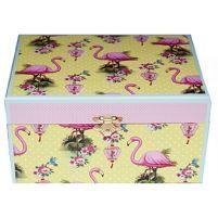 Flamingo & Lantern jewellery box