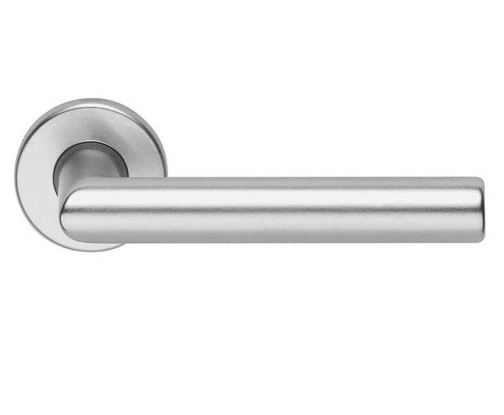 Door handle with rosette