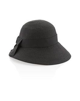 White House | Black Market Wide Brim Cloche Hat #whbm