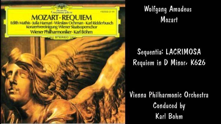 Mozart - Requiem in D Minor, K. 626: III. Sequentia - Lacrimosa - Hans Haselböck, Karl Böhm, Konzertvereinigung Wiener Staatsopernchor, Norbert Balatsch & Wiener Philharmoniker