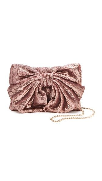 RED Valentino Paillettes Bow Bag