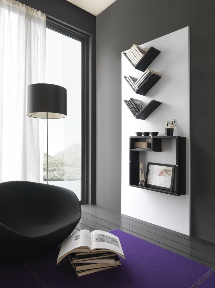 #Metal #panels and structures. #magnetic #shelves. Ronda Design.