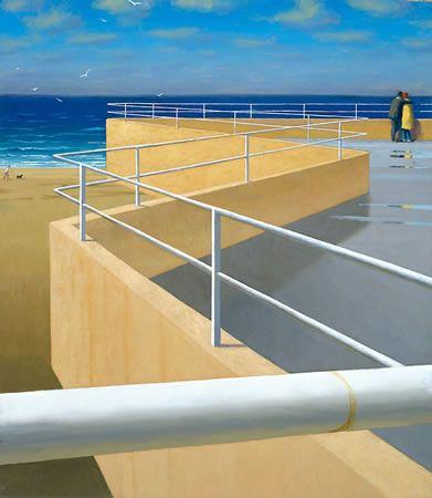 Australian Fine Art Editions - Artist Jeffrey Smart - Bondi Penthouse