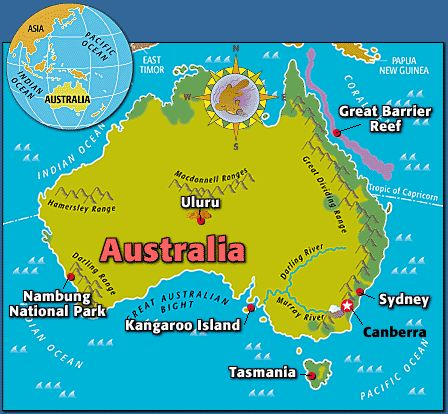 Aus & NZ: Australia Factfile