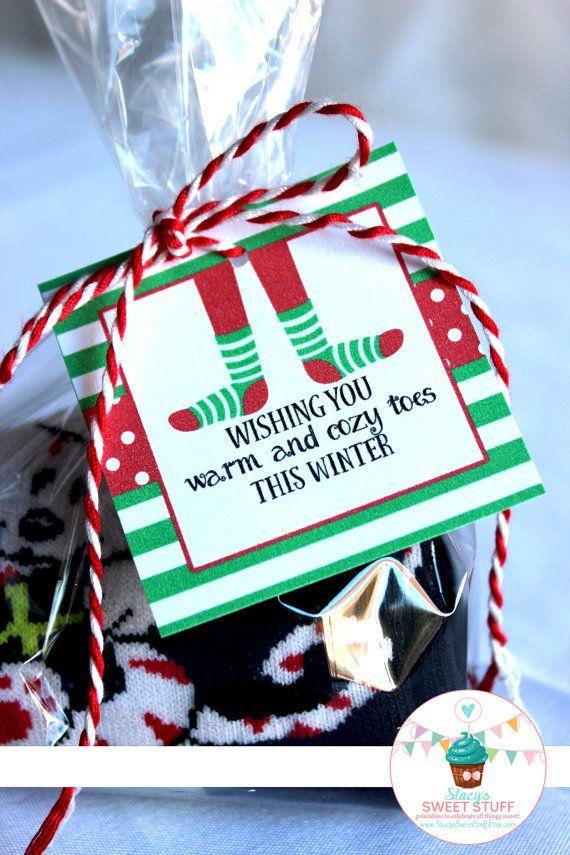 Mistle Toes 2 Pairs Socks In Sweet Wrapper Gift Pack