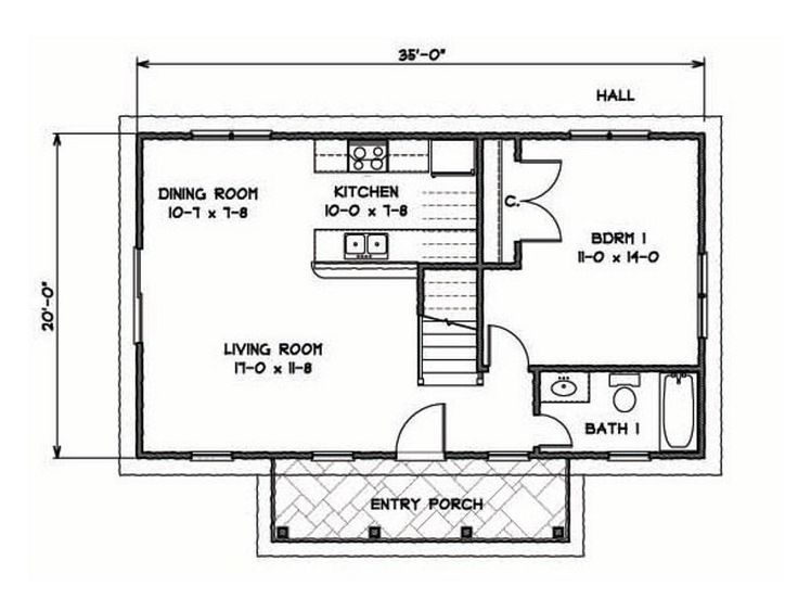 this traditional katrina cottage design has 3 bedrooms in 1200 sq ft - Katrina Cottage Plans