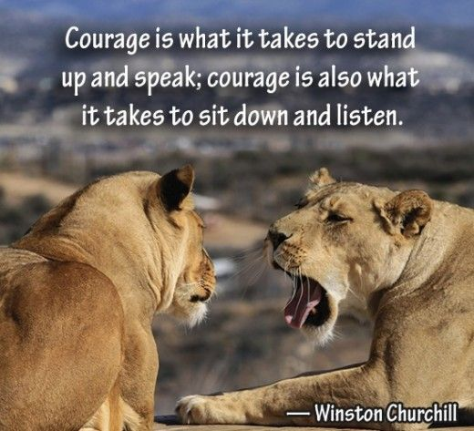 Inspirational Courage Quotes: 25+ Best Quotes About Courage On Pinterest
