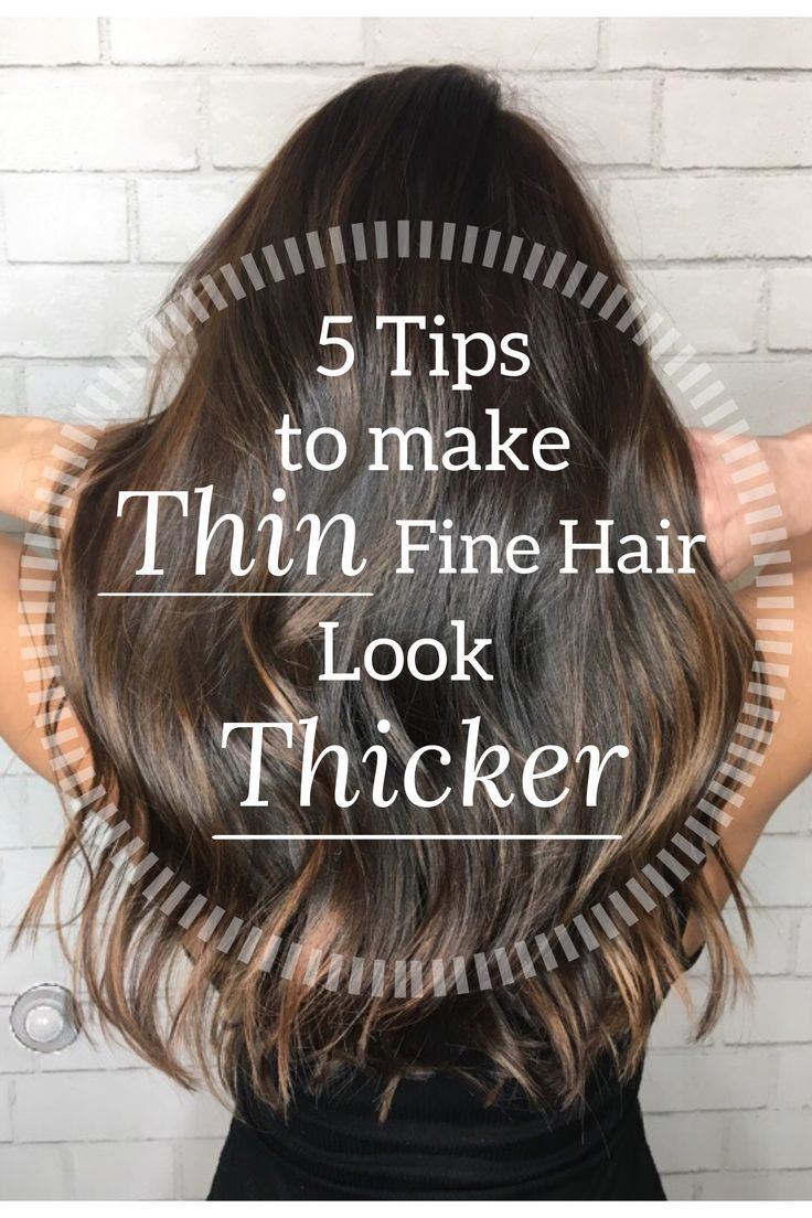 I finally found an amazing hair stylist in Orange County and wanted her to share her top 5 tips for making thin fine hair look thicker and fuller!