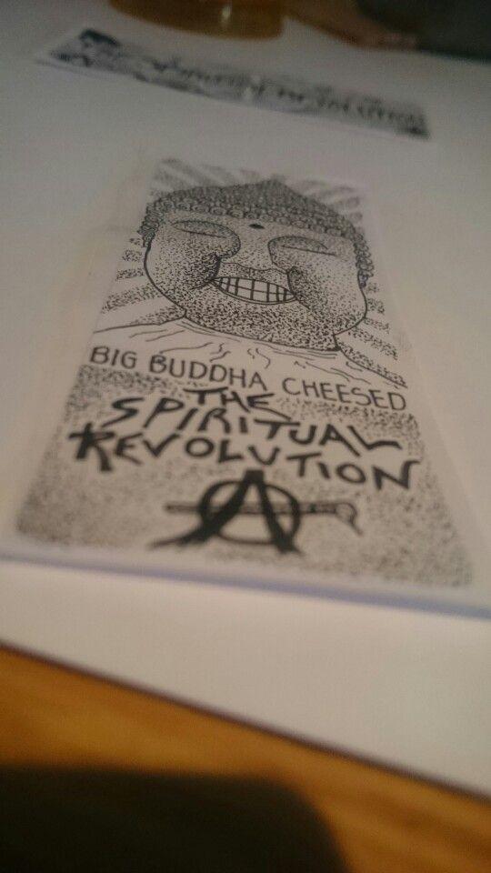 A design I did for a friend #thespiritualrevolution #bigbuddhacheese #buddha #revolution artivism #politicalart #socialartivist #illustration #pointillism #shading #dotwork #urbanart #streetart #graffiti #fineline #bnw #freedom #3rdeye #wakeup #spiritual #consciousness #openyoureyes #Nottingham