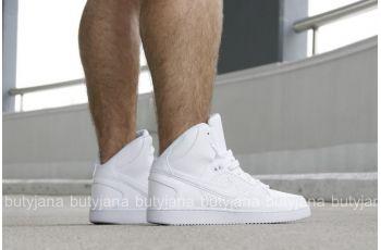 "Nike Son of Force Mid 616281-102 ""White"" #snekaers #nike"