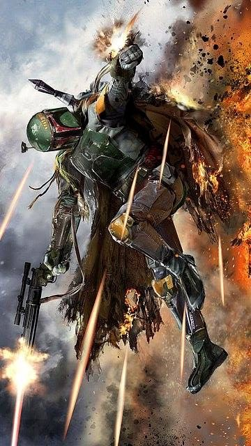 Star Wars - Boba Fett by John Gallagher *