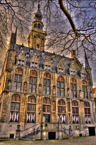 City hall of Veere | Flickr - Photo Sharing!