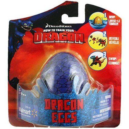 Amazon.com: How To Train Your Dragon Movie Dragon Eggs RANDOM Color Egg!: Toys & Games